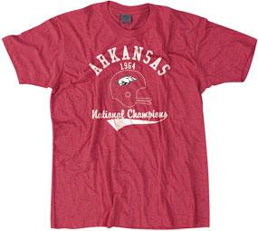 1964 Arkansas Razorbacks Vintage T-shirt
