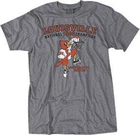1986 Louisville Cardinals Vintage T-shirt