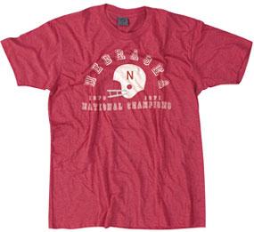 1970-71 Nebraska Cornhuskers Vintage T-shirt