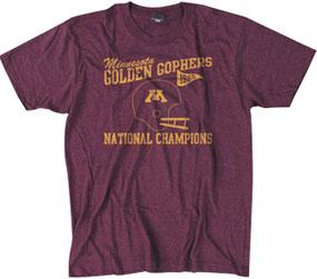 1960 Minnesota Golden Gophers Vintage T-shirt