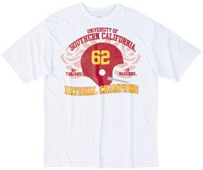 1962 USC Trojans Vintage T-shirt