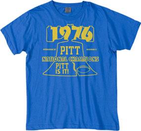 1976 Pittsburgh Panthers Vintage T-shirt
