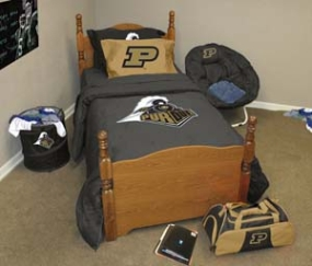 Purdue Boilermakers Twin Size Bedding In A Bag