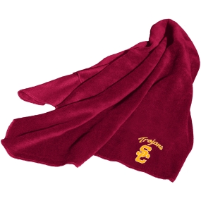 USC Trojans Fleece Throw Blanket