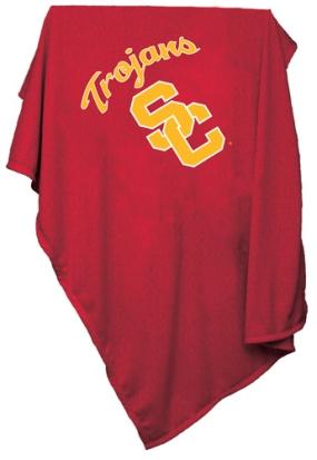 USC Trojans Sweatshirt Blanket