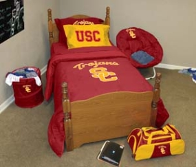 USC Trojans Queen Size Bedding In A Bag