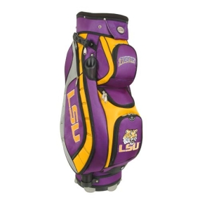 LSU Tigers Letterman's Club II Cooler Cart Golf Bag