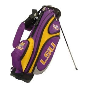 LSU Tigers GridIron Stand Golf Bag
