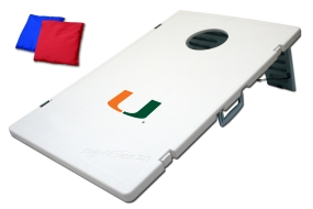 Miami Hurricanes Tailgate Toss 2.0 Beanbag Game