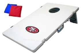 San Francisco 49ers Tailgate Toss 2.0 Beanbag Game
