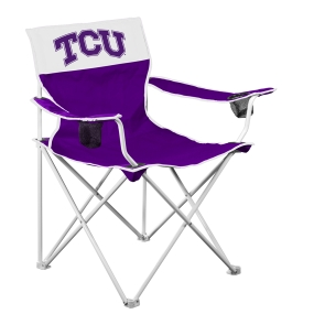 TCU Horned Frogs Big Boy Tailgating Chair