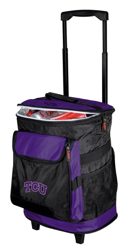 TCU Horned Frogs Rolling Cooler