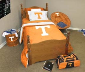 Tennessee Volunteers Twin Size Bedding In A Bag