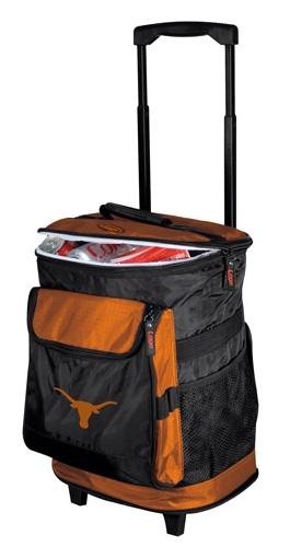 Texas Longhorns Rolling Cooler
