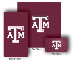 Texas A&M Aggies Full-Queen Size Sheet Set
