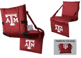 Texas A&M Aggies Tri-Fold Stadium Seat