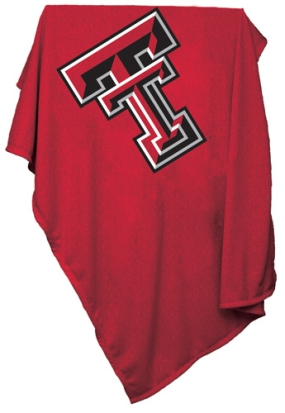 Texas Tech Red Raiders Sweatshirt Blanket