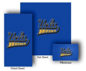 UCLA Bruins Full-Queen Size Sheet Set