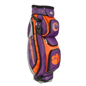Clemson Tigers Letterman's Club II Cooler Cart Golf Bag