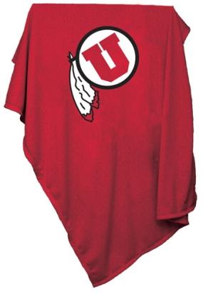 Utah Utes Sweatshirt Blanket