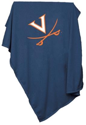 Virginia Cavaliers Sweatshirt Blanket