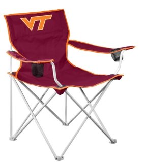 Virginia Tech Hokies Deluxe Chair
