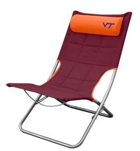 Virginia Tech Hokies Lounger Chair