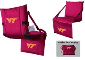 Virginia Tech Hokies Tri-Fold Stadium Seat