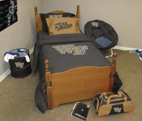 Wake Forest Demon Deacons Queen Size Bedding In A Bag