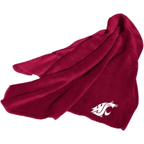 Washington State Cougars Fleece Throw Blanket