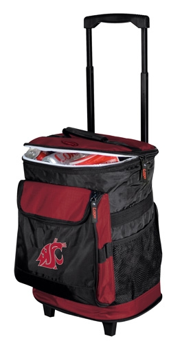 Washington State Cougars Rolling Cooler