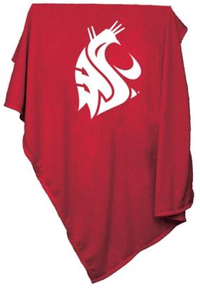 Washington State Cougars Sweatshirt Blanket