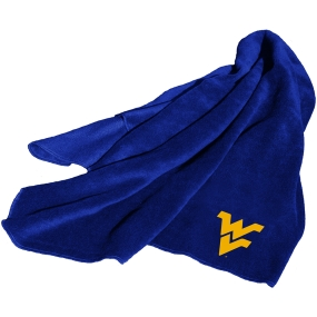 West Virginia Mountaineers Fleece Throw Blanket