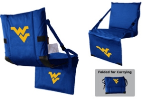 West Virginia Mountaineers Tri-Fold Stadium Seat