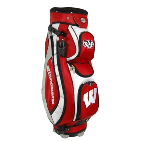 Wisconsin Badgers Letterman's Club II Cooler Cart Golf Bag