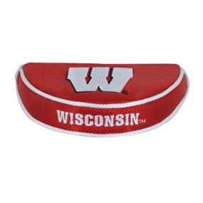 Wisconsin Badgers Mallet Putter Cover