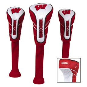 Wisconsin Badgers Nylon Golf Headcovers