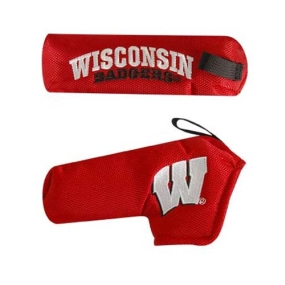 Wisconsin Badgers Blade Putter Cover