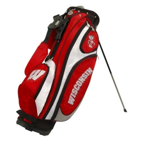 Wisconsin Badgers GridIron Stand Golf Bag