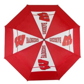 Wisconsin Badgers Golf Umbrella