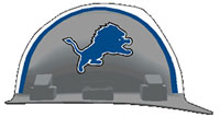 Detroit Lions Hard Hat