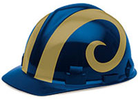 Saint Louis Rams Hard Hat
