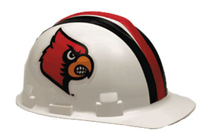 Louisville Cardinals Hard Hat