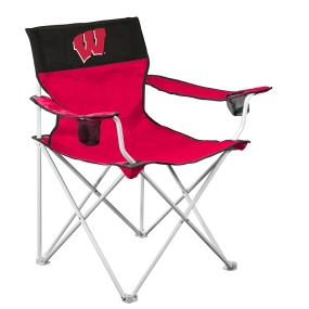 Wisconsin Badgers Big Boy Tailgating Chair