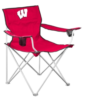 Wisconsin Badgers Deluxe Chair