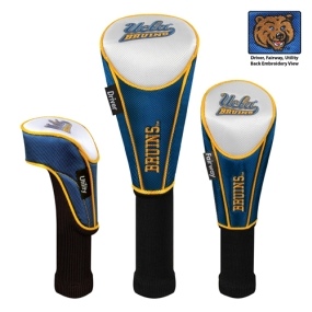 UCLA Bruins Set of 3 Golf Club Headcovers