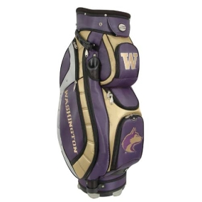 Washington Huskies Letterman's Club II Cooler Cart Golf Bag