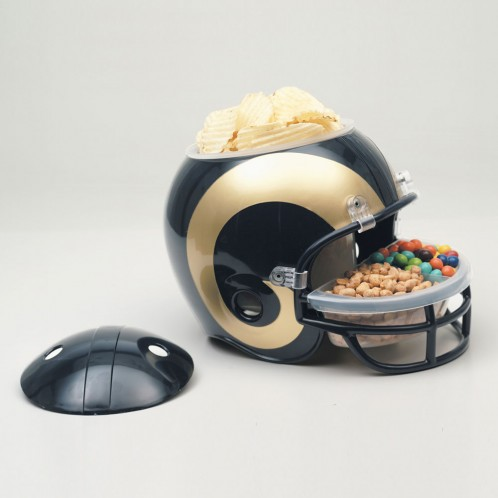 Saint Louis Rams Snack Helmet