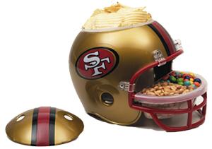 San Francisco 49ers Snack Helmet