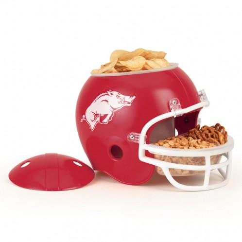 Arkansas Razorbacks Snack Helmet